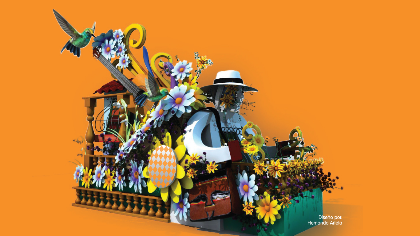 Carrozas del Carnaval 2020, inspiradas en las fiestas del mundo