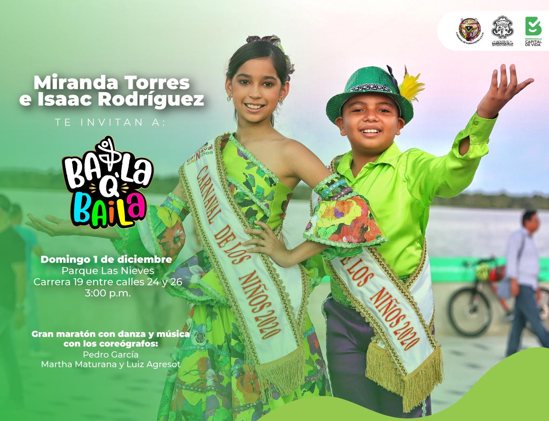 Reyes del Carnaval de los Niños 2020, llegan con 'BailaQBaila' a los parques de la ciudad