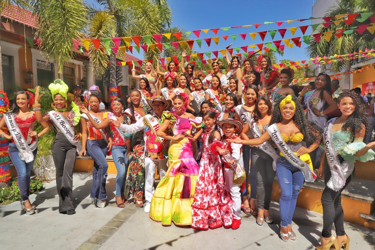 Con la presentación de 32 participantes arranca el Reinado Popular 2020