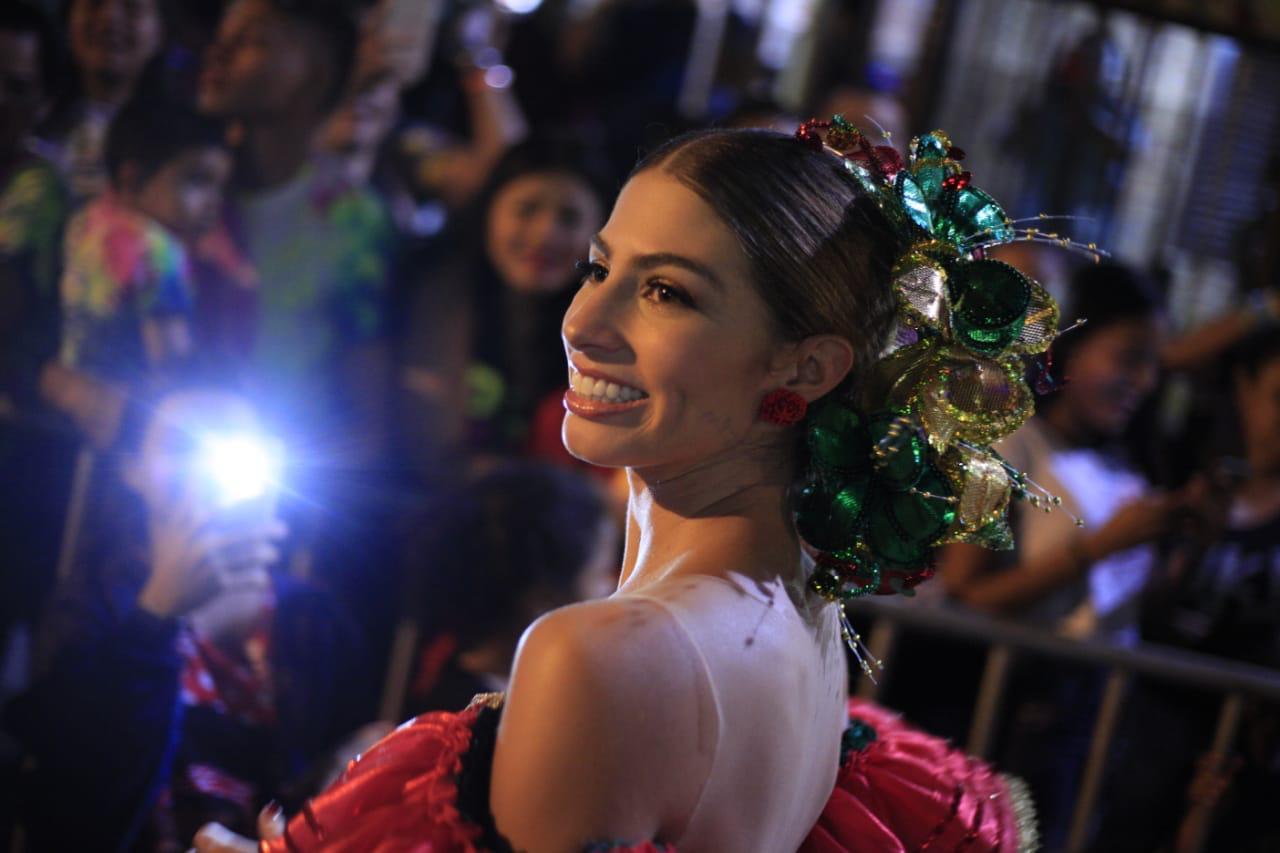 Isabella, primera Reina del Carnaval de Barranquilla en el Ceremonial de la muerte