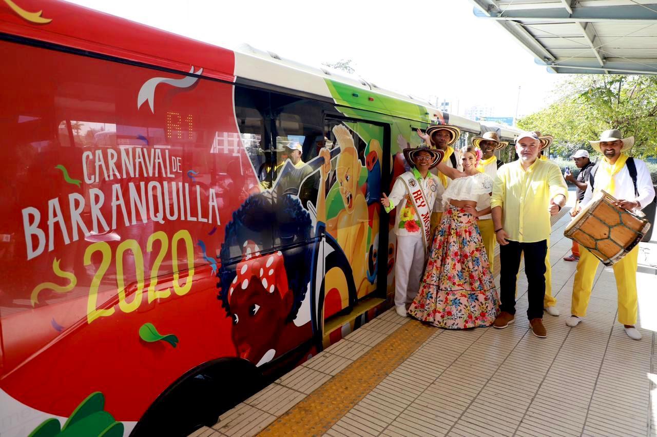 Operación de Transmetro para los cuatro días de Carnaval
