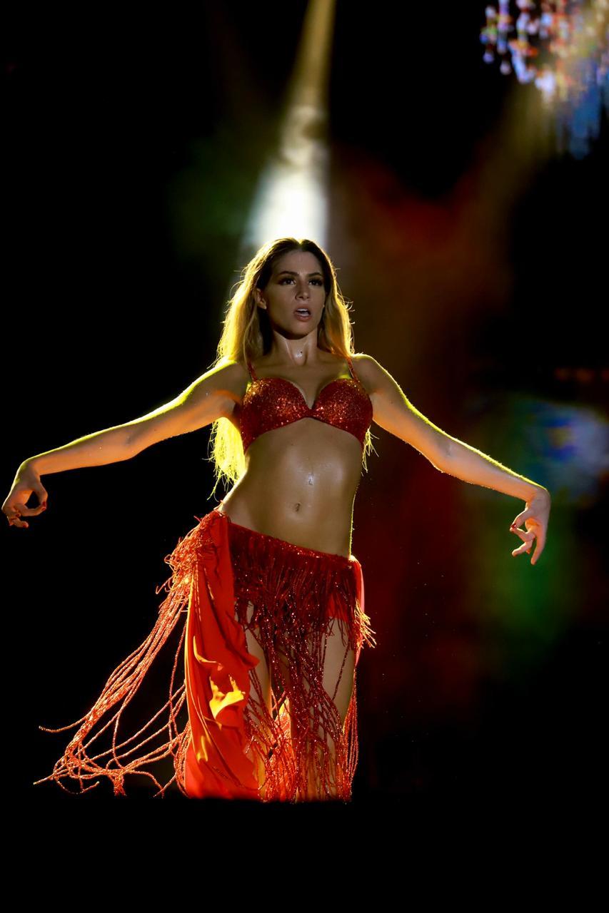 Shakira agradeció homenaje de la Reina Isabella en la Lectura del Bando 2020