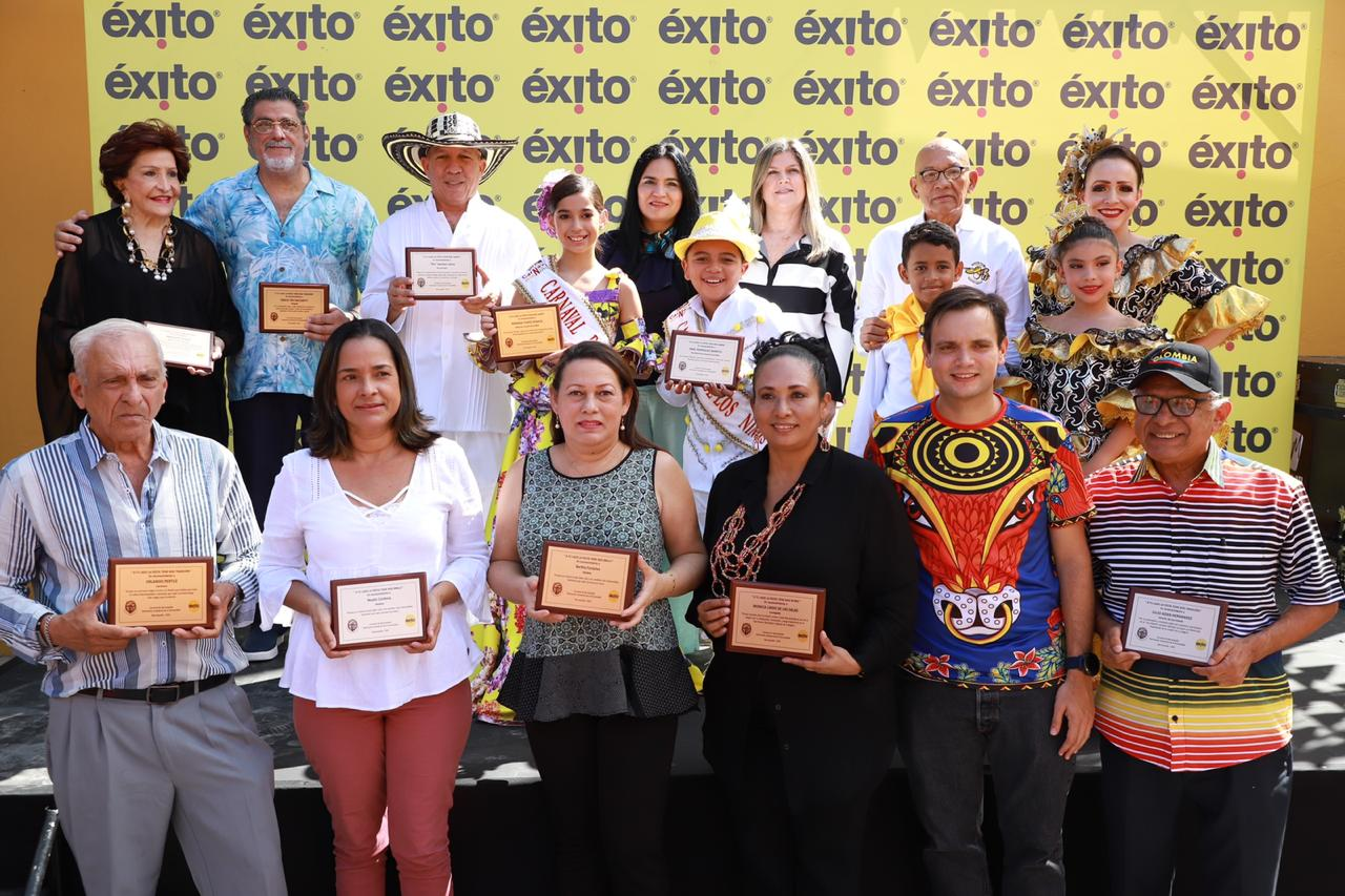 Con homenaje a la gente, almacenes Éxito se une al Carnaval 2020