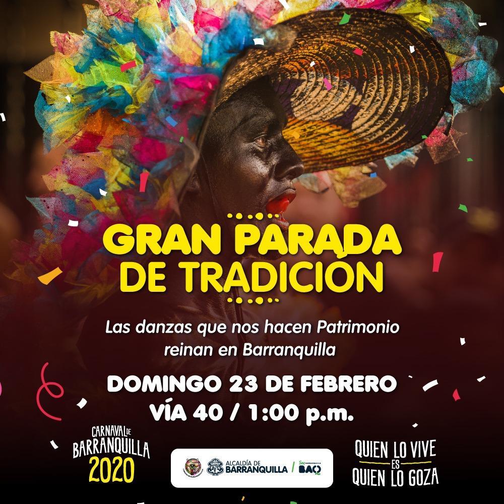 La Gran Parada de Tradición, el desfile folclórico más importante del Carnaval