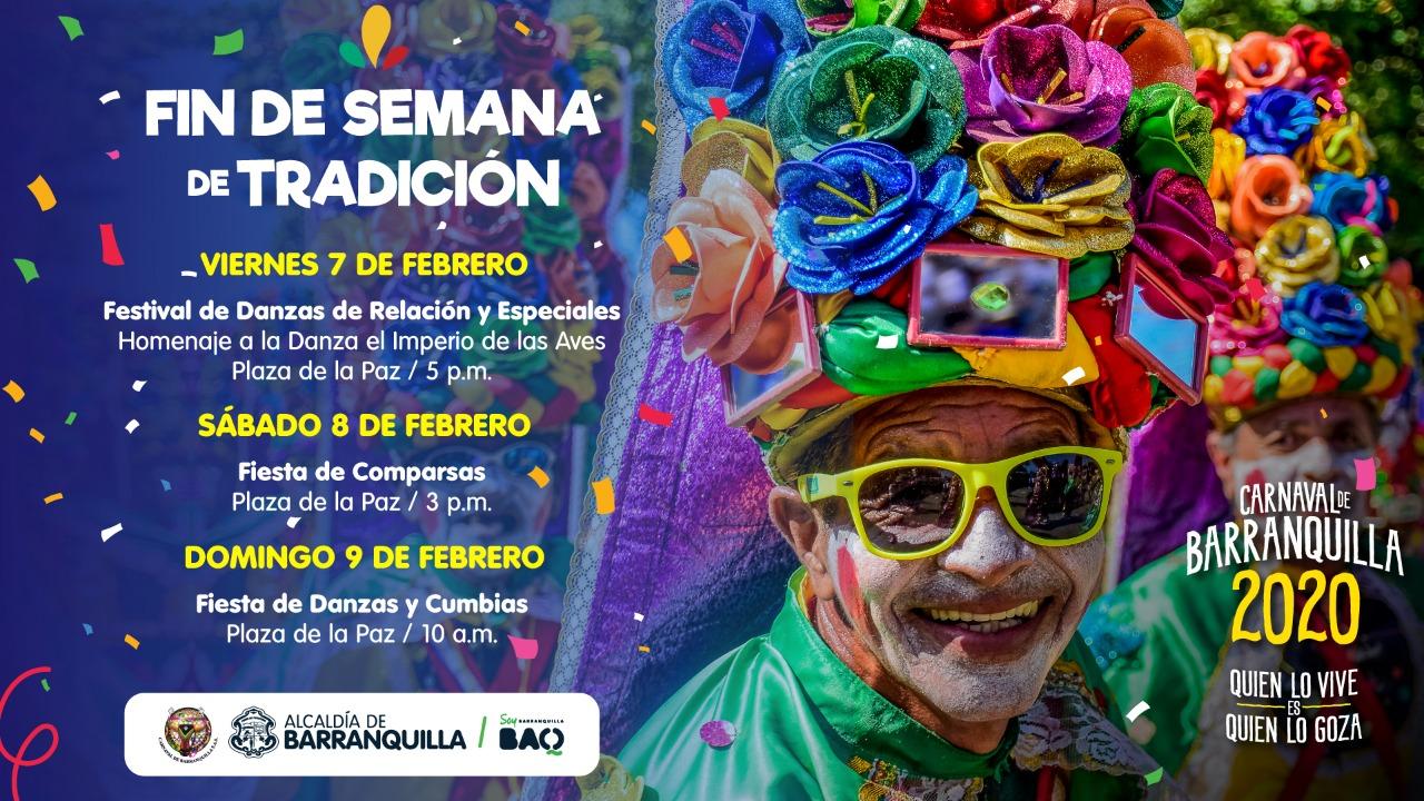 Fin de semana de Carnaval en la Plaza de la Paz