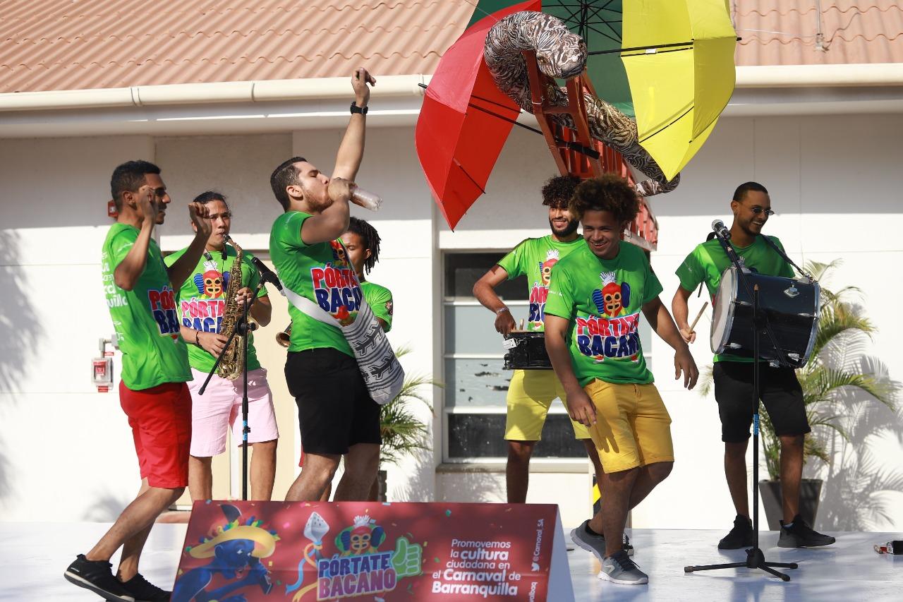 Promigas y Carnaval le apuestan al buen comportamiento con la campaña 'Pórtate Bacano'