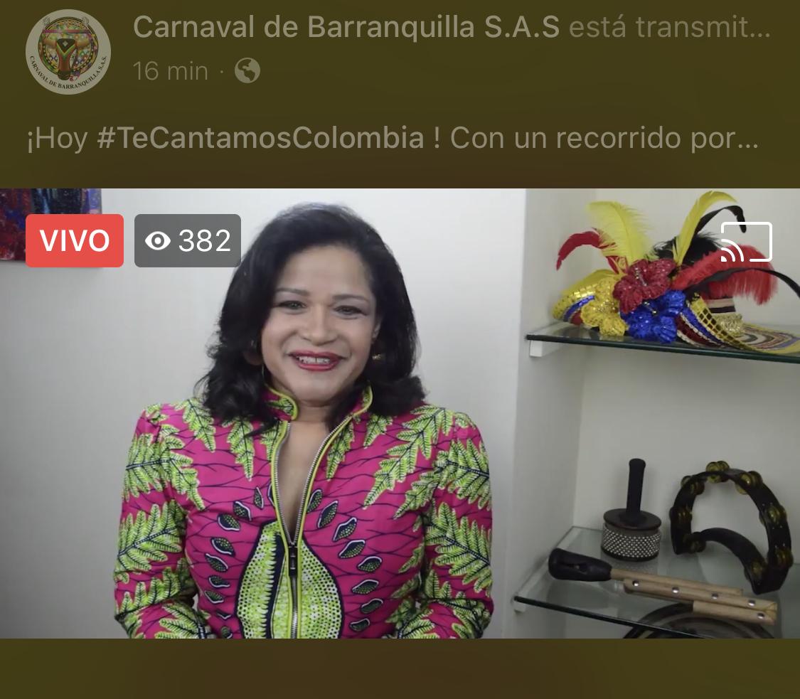 Con musical de Tambó saludamos a Colombia en su Independencia