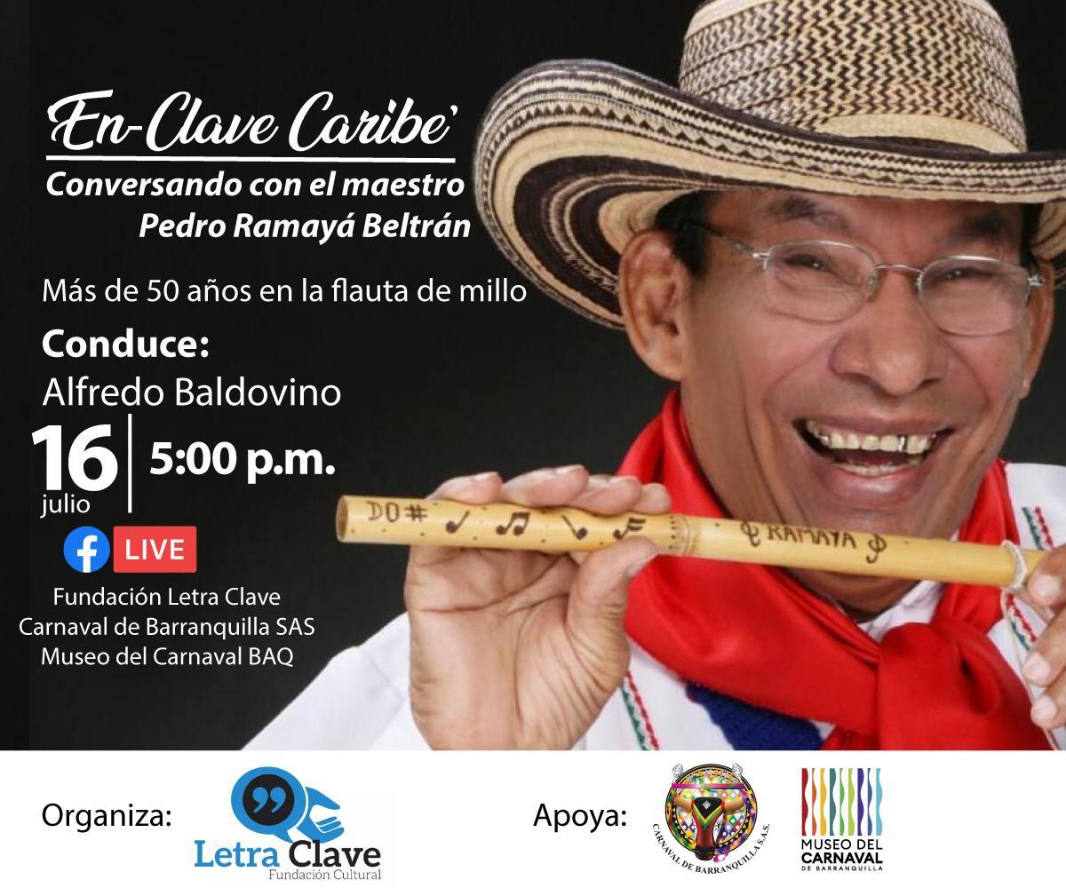 Pedro 'Ramayá' Beltrán, el Rey del Millo invitado especial de 'En clave Caribe'