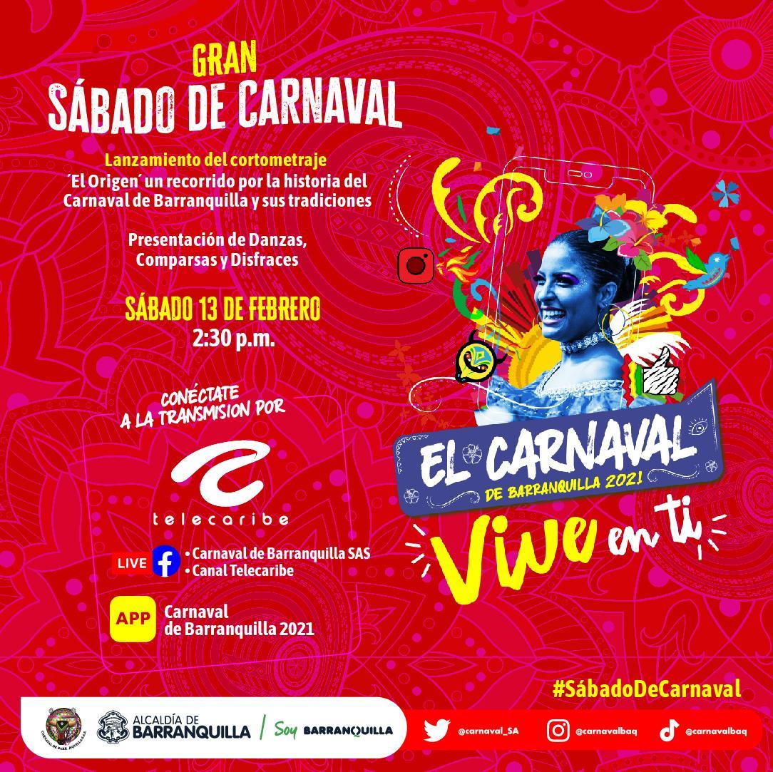 Gran Sábado de Carnaval con estreno de 'El Origen', danzas, comparsas y disfraces