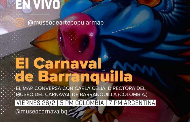 Museo del Carnaval de Barranquilla invitado por MAP de Argentina