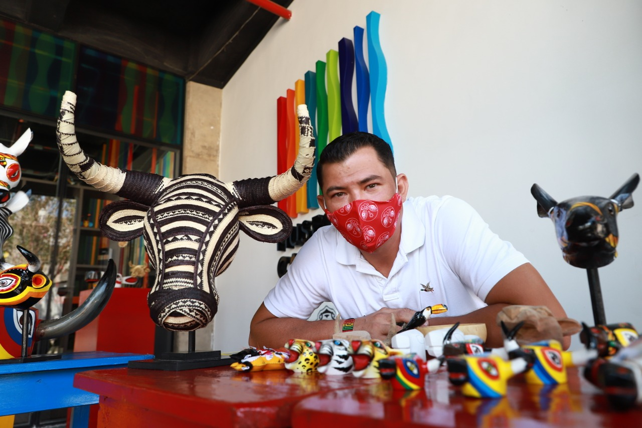Museo del Carnaval de Barranquilla inauguró su Tienda y celebró Día del Artesano