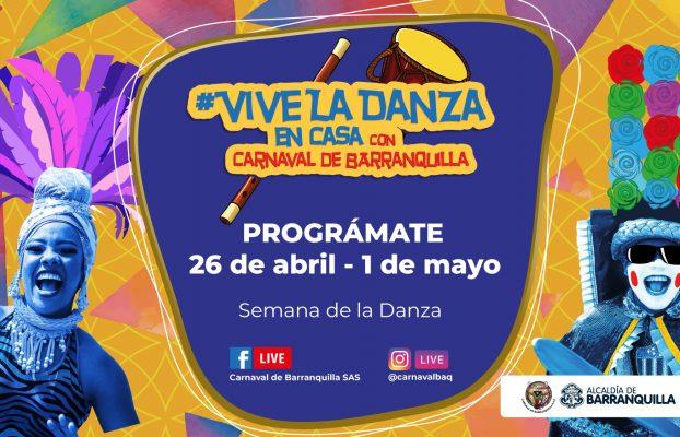 #ViveLaDanza una semana para exaltar esta expresión que da vida al Carnaval de Barranquilla