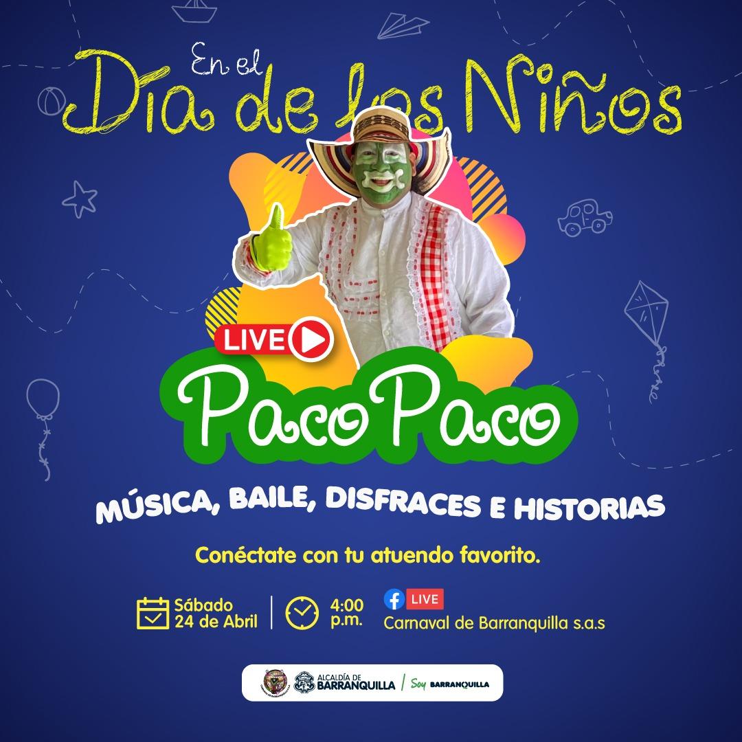 Carnaval de Barranquilla tiene agenda digital  para fin de semana de los Niños
