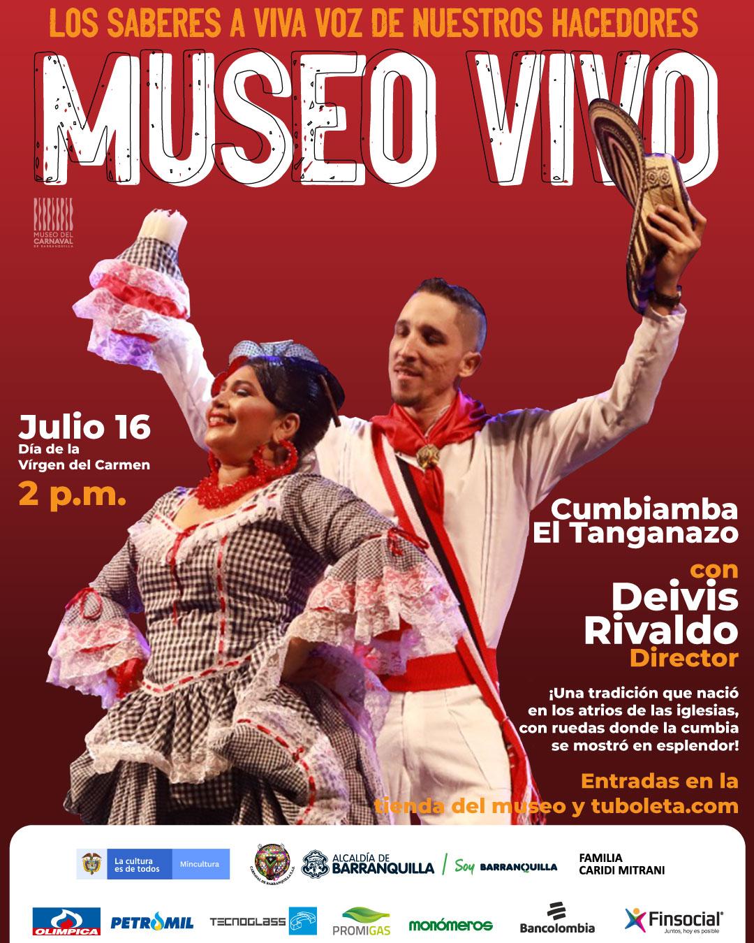 Llega a Museo en Vivo la Cumbiamba El Tanganazo