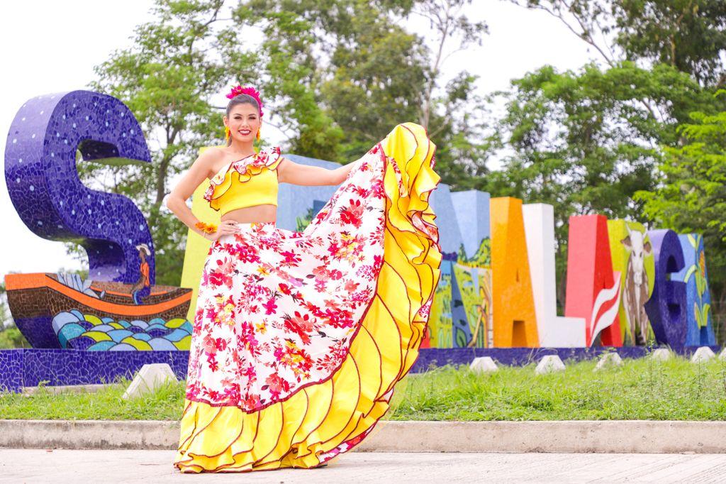 Se mueve el Carnaval con Valeria en Sabanalarga
