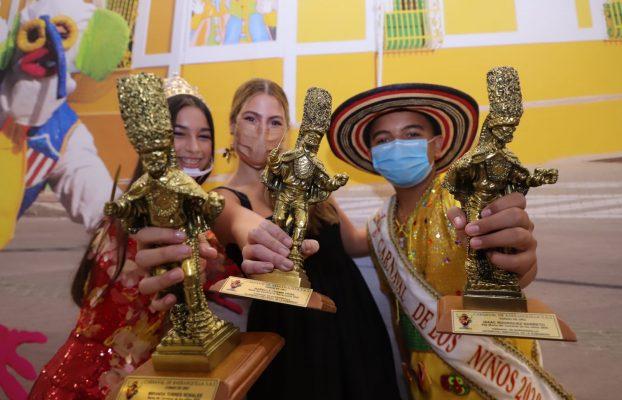 Reyes, carroceros, ganadores de la Calle 17 y Joselito, alzaron su Congo de Oro